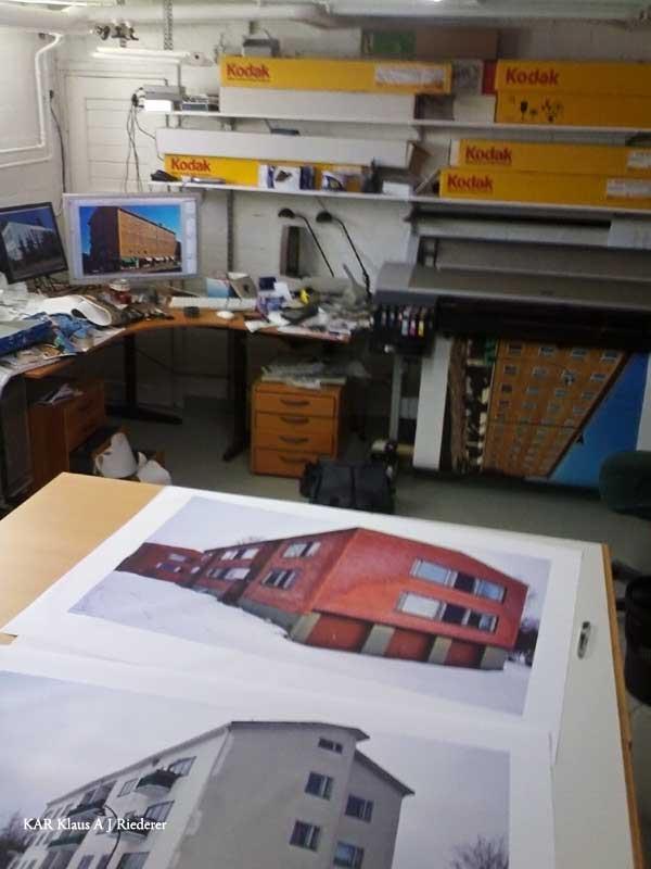 Skannaus, pigmenttivedostaminen kankaalle & lakkaus, 04/2008