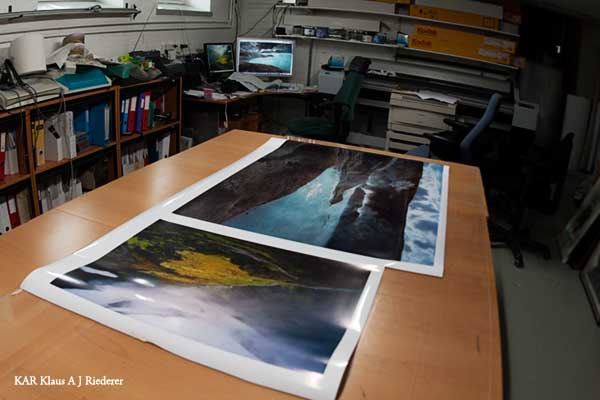 Pigmenttivedostaminen valokuvapaperille 03/2009
