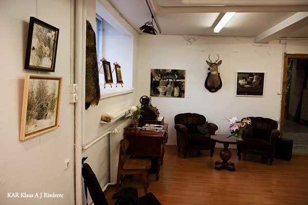Taidenäyttelyn valokuvaus toimeksiannosta