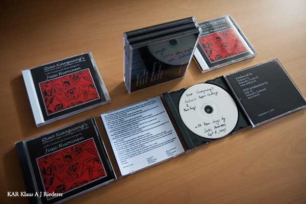 DVD-portfolion valmistaminen, 09/2008