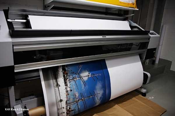 Pigmenttivedostaminen mattapaperille, Matti Schula, 07/2009