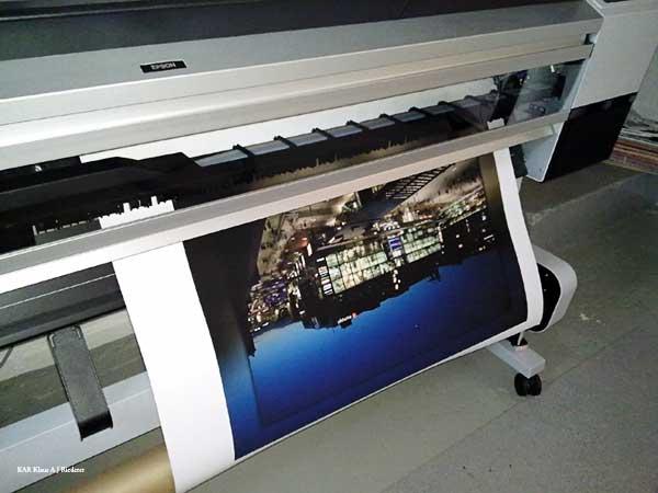 Pigmenttivedostaminen mattapaperille Matti Schulalle 01/2010
