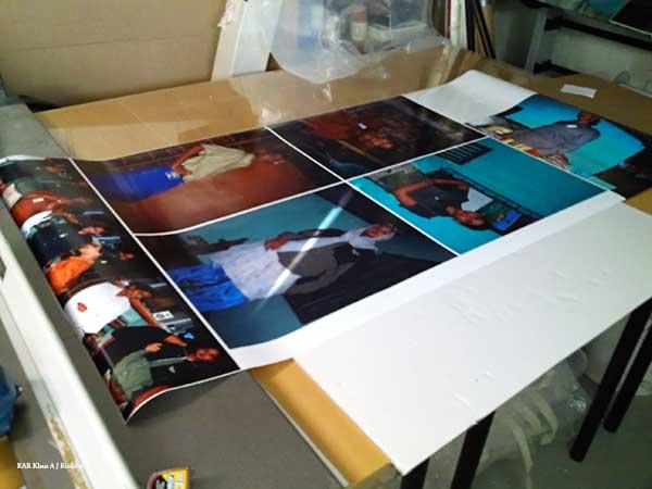 Valokaappivedokset - pigmentti polyesterifilmille 03/2010