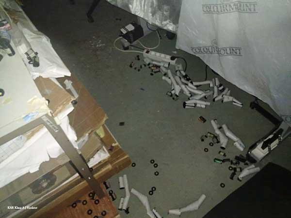 Mustavalkofilmien kehitys, skannaus & arkivointi 04/2010