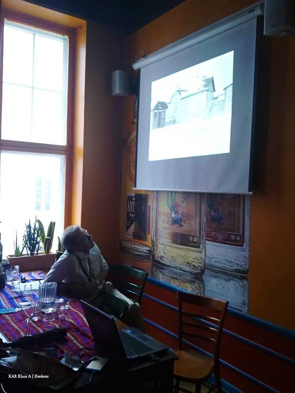 Kutsuttu esitelmä & Matti Vartia: Valokuvien entistäminen ja säilyttäminen 05/2010
