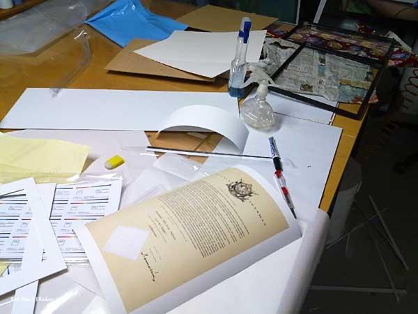 Digitaalinen reproaminen - valokuvan skannaus, restaurointi, pigmenttivedostaminen ja kehystäminen, 05/2010