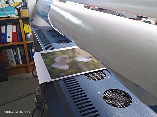 Pigmenttivedokset Ibondille, Sari Teräväinen, 09/2010