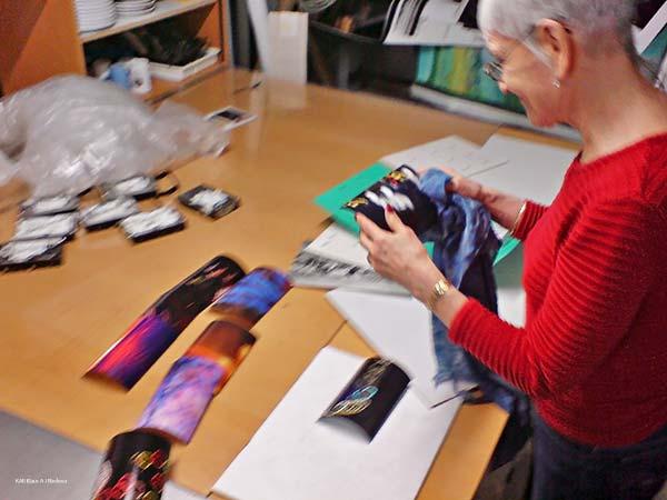 Pigmenttivedokset 13x18cm2, Ritva Lassila, 01/2011