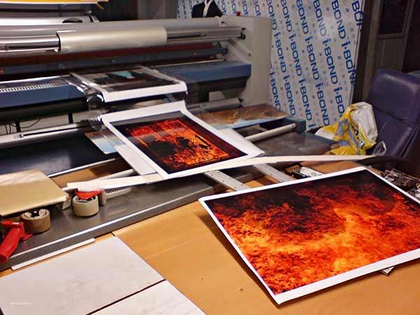 Pigmenttivedokset Ibondille, Ahti Parviainen, 01/2010