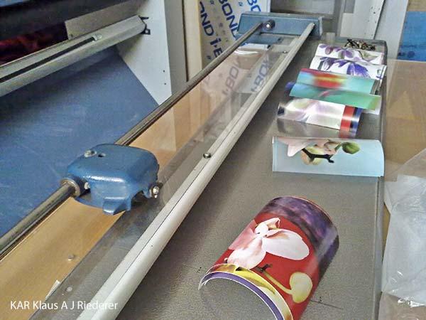 Pigmenttivedokset 13x18cm2, Ritva Lassila, 03/2011