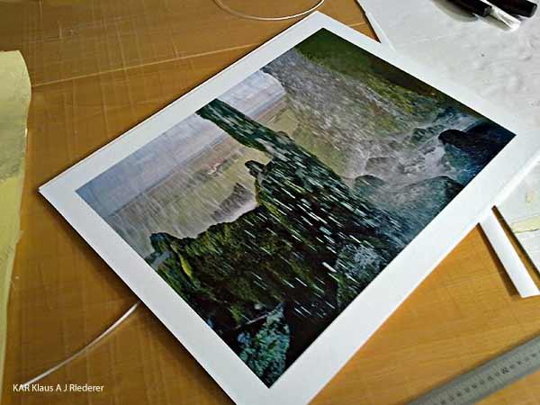 Pigmenttivedokset lasikehyskiin paspalla, Dan Palmgren, 04/2010