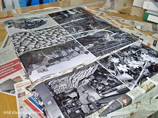 Pigmenttivedokset 30x45 cm2, Hannu Salonen, 06/2011