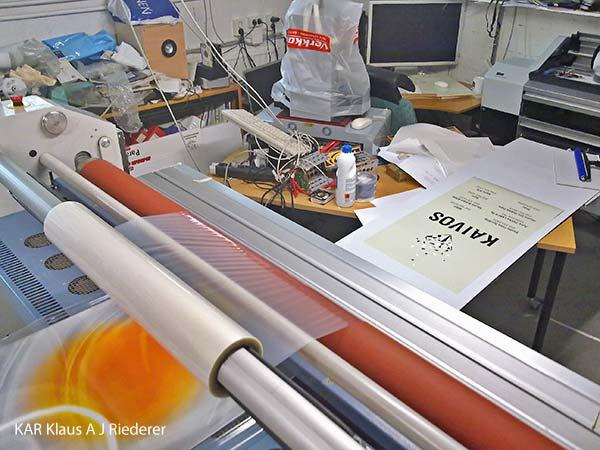 Pigmenttivedoksen pussiinlaminointi, Asko Rokala, BEE2 Oy, 05/2011