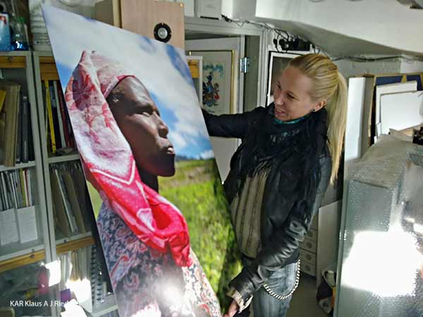 Pigmenttivedos Ibondille, Anna Huittinen, 11/2010