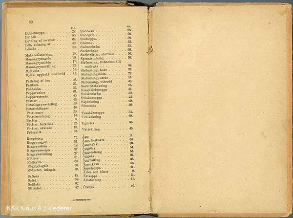 1890-luvun keittokirjojen pelastaminen: digitointi, 11/2011