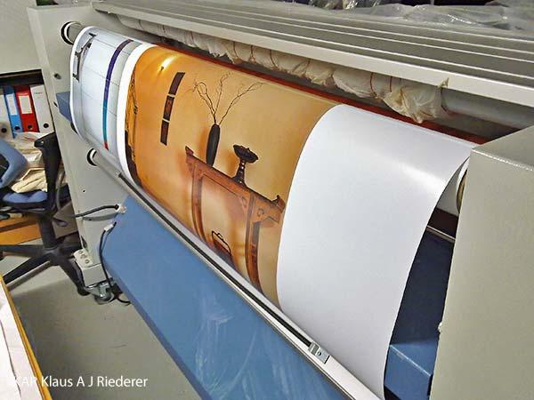 skannaus, pigmenttivedostaminen ja lasikehystaminen, Dalian Oy, 11/2011