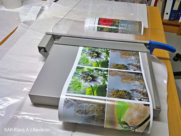 Pigmenttivedokset 13x18cm2, Ritva Lassila, 11/2011