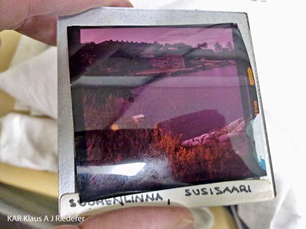 6x6 1960-luvun diojen pelastaminen: konservointi, digitointi ja arkivointi, Suomenlinnan hoitokunta, 02/2012