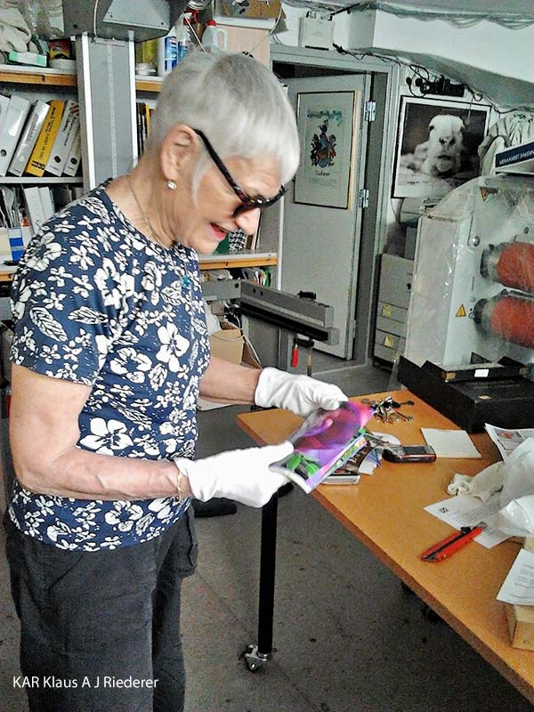 Pigmenttivedokset 13x18cm2, Ritva Lassila, 06/2012