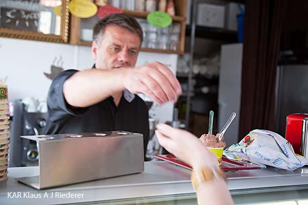 Der beste Eis in der Welt - the best ice-cream ever! aRoma, Frankfurt am Main, 07/2012