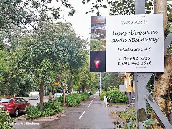 KAR S.A.R.L: hors d'oeuvre avec Steinway II, 08/2012