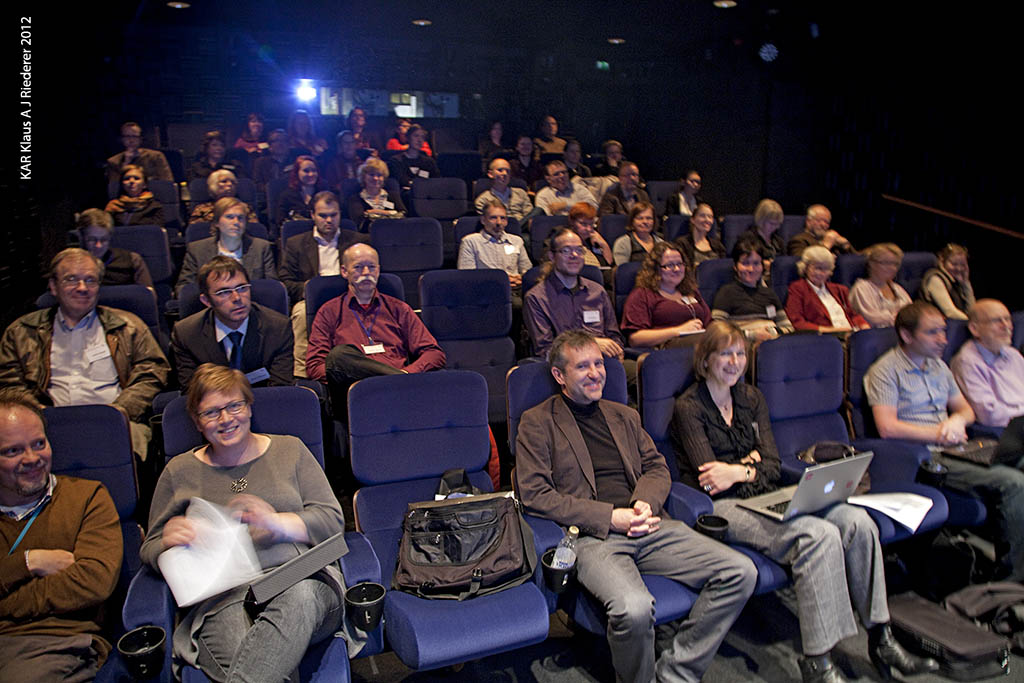 BAAC2012 Konferenssi & excut, Klaus A J Riederer esitelma, 10/2012