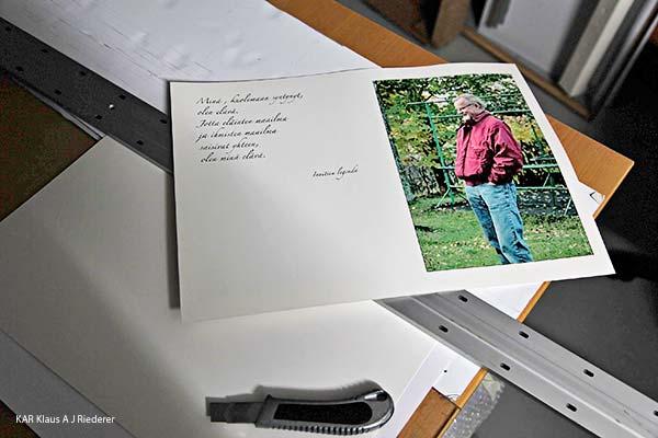 Muistoadressi Laurin muistolle, 10/2012