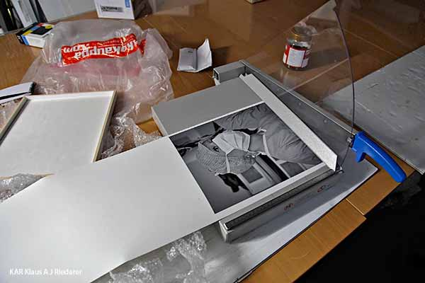 Museokelpo valokuvateos: pigmenttivedos, mattalasikehys, paspartuuri, Paalanen, 09/2013