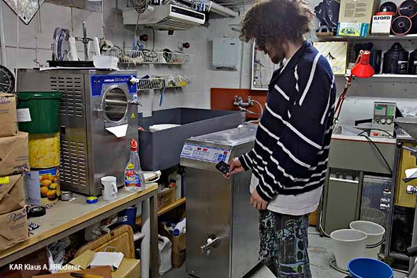 Carpigiani Pastomaster Tronic 60: turkkilaista jugurttia maatiaiskarjan tinkimaidosta, 10/2013
