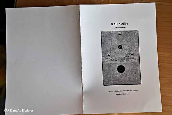 KAR ADU1c to Aalto University, KAR ADU2a to Erasme Hopital Belgium, 02/2014