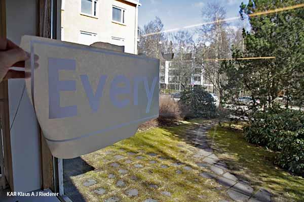 Ikkunateippaukset ja graafinen suunnittelu, PTBTrade Oy Everylux.com, 04/2014
