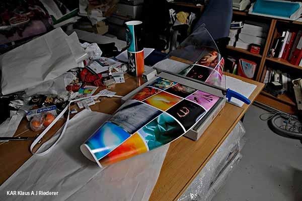 Pigmenttivedostaminen 13x18cm2, Ritva Lassila, 02/2014