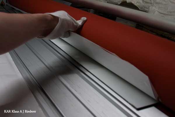 Alumiinikomposiittipohjustus & kuumalaminointi Lassilalle 12/2009