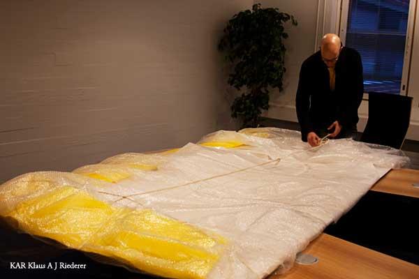 Jumbokoon alumiinikomposiittipohjustus TKK/ETAlle 12/2009