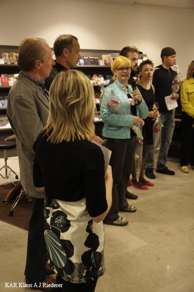 Keikkakuvaus taiden?yttelyn avajaisista: Jan Eerala @ Virka galleria 20.5. - 30..2009