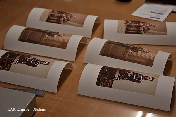 Pigmenttivedos 100 vuotta vanhasta pintaoriginaalista