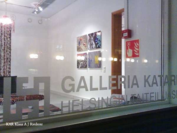 Mia Seppälän taidenäyttely Galleria Katariinassa 12/2009
