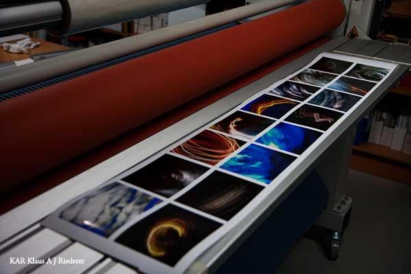 Ritva Lassilan taidenäyttely Laterna Magicassa 2009
