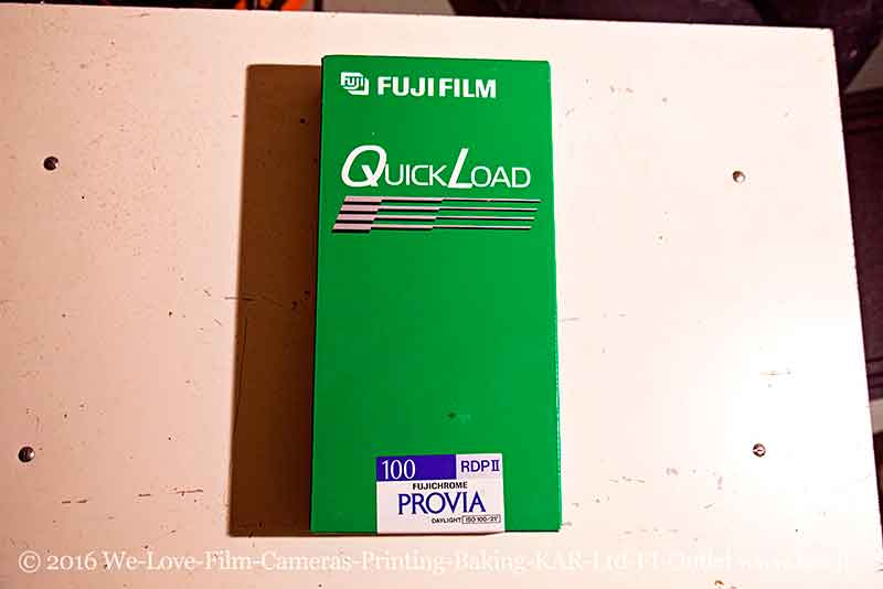 "FOR SALE Fuji Provia 100 RDPII 4x5"" QL film OPENED BOX 20 sheets EXPIRED 02/01 kept mostly frozen TESTED"