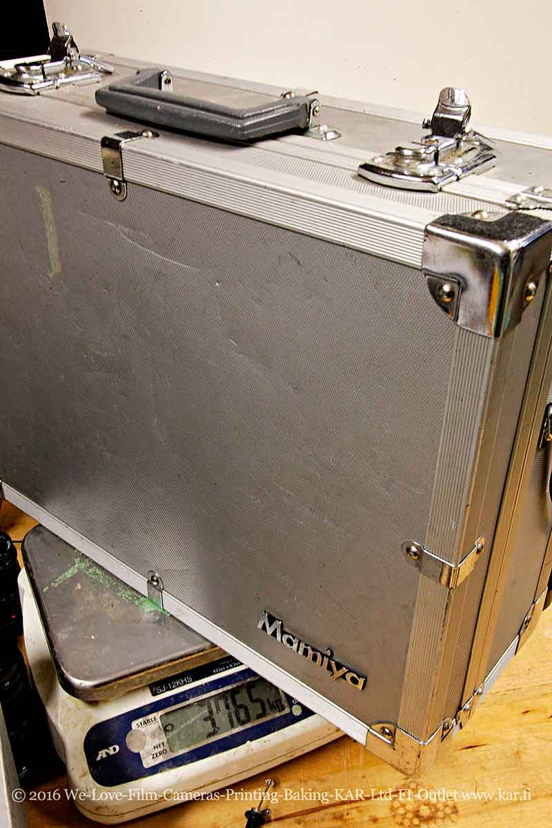 Aluminum suitcase trunk case for camera Mamiya RB67 / RZ67 etc  Good  condition location EU (AUCTION)